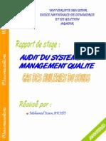 Audit Du Systeme de Management Qualite Hsb