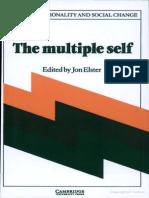 Jon Elster,The Multiple Self
