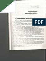 Economie Publica - Fundamentele Economiei Publice