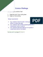 insulation challenge