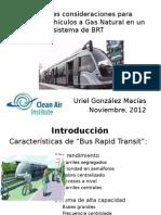El GNV en el BRT