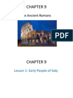 chapter 9- the ancient romans- lesson 1 2