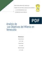 analisis de los objetivos del milenio