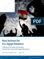 New Anchors for U.S.-Egypt Relations