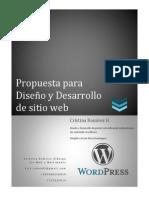 ejemplo de propuesta para portal web