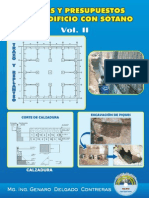 Costos y presupuestos de un edificio con sótano Vol. II.pdf