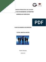 Trabajo de Gerencia de Servicios Pedro Chonata PDF