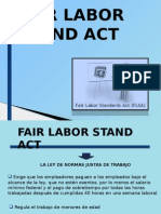 Fair Labor Stand Act