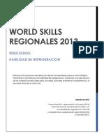 Informe de Resultados Wsregional Bogota Rerigeracion