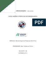 Manual de Apresentação de Projeto de Pesq
