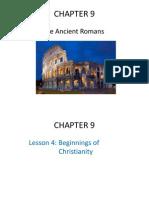 chapter 9- the ancient romans- lesson 4 2