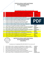 Cuestionario de Contabilidad Primero Básico Secciones a y B