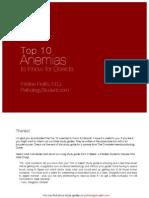 Top 10 Anemias