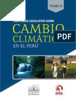 Compendio de legislación y cambio climático - Tomo II