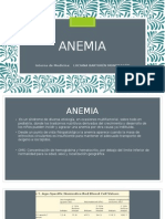 Anemia en Pediatria