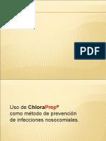 Uso de CloraPrep Como Método de Prevención