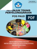 Petunjuk Teknis Penyelenggaraan PAUD