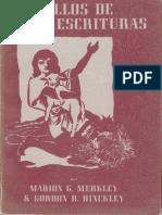 Caudillos de Las Escrituras Marion g Merkley Gordon b Hinckley1