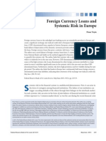 Yesin - Foreign Currency Loans & Systematic Risk in Europe