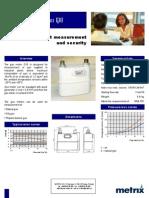 Metrix G10 medidor de gas natural