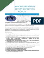 Definición PHP, WampServer, Localhost, PHP My Admin, SQLite