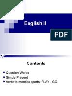 English II - Unit II