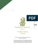 The Ritz Carlton Cancun PNC 2005