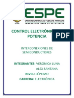 Interconexiones de Semiconductores