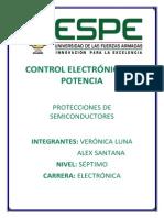 Protecciones de Semiconductores