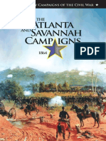 Atlanta and Savannah Campaigns - 1864