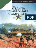 Atlanta and Savannah Campaigns - 1864