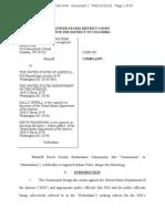 Potawotami Lawsuit Against BIA