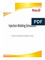 How to Interpret Injection Moulding Simulation Results