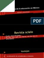 perspectiva de la educacin en mexico