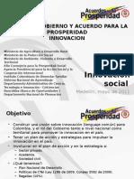 Mesa 6 Innovación Social