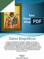 San Timoteo de Alejandría.pptx