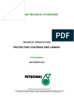 Petronas Technical Standard (Pts 30.48.0031 Sept2012)