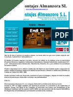 ElectroMontajes Almanzora SL - Instalacciones electrica en Almería, Almeria, Almanzora, Albox