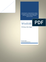 Writing a WinRAR Key Logger