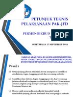 Juknis Pelaksanaan PAK2014