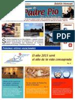 Amigos de Padre Pio Diciembre 2014