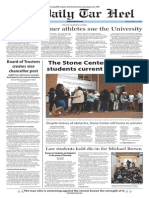 The Daily Tar Heel for Jan. 23, 2015