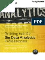 AnalyticsStreet Speaker Agenda