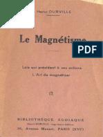 Hector Durville - Le Magnetisme