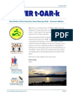 SCRC RivertOARk Summer 2015