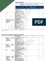 Manual Handling Assessment - RPS Floor Sorting