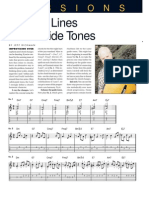 Guitar Player - Building Lines From Guide Tones