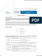 Wheatstone Bridge Circuit and Theory of Operation