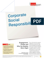 Corporate Social Responsibility Engagement