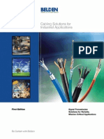 Cabling Solutions for Industrial Applications